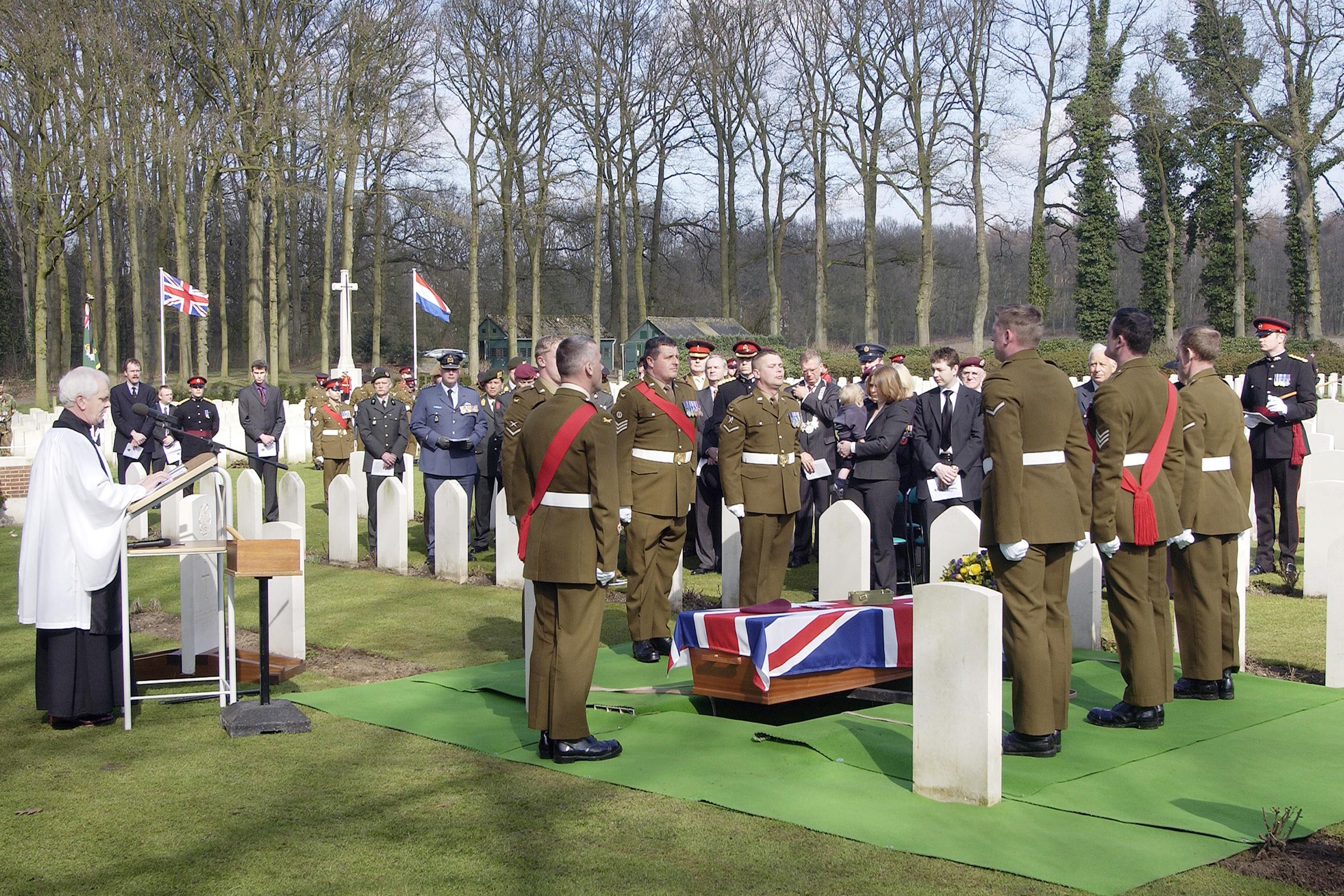 Militaire begrafenis